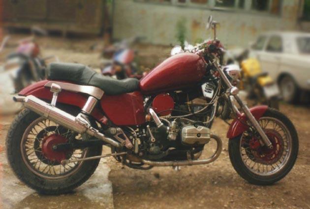 Описание легендарный мотоцикл урал